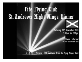 St. Andrew's Night Wings Dinner